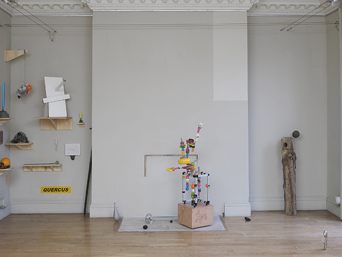 'Backyard Sculpture' gallery installation view, photo by Andy Keate
