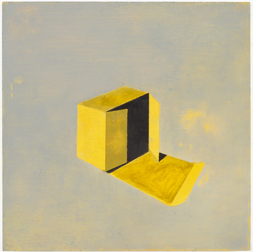 Christopher Hanlon 'Untitled (Box)' oil on board, 30×30cm/12×12in, 2008, photo by Andy Keate, courtesy domobaal