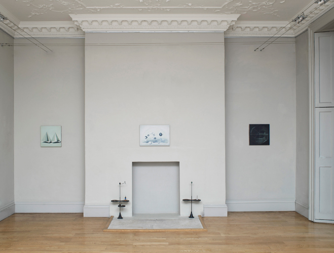 Christopher Hanlon 'Disseminatus' installation view, photo by Andy Keate, courtesy domobaal