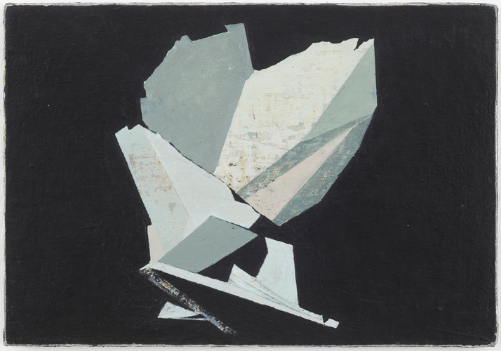 Christopher Hanlon 'Leaf' 21.5×30cm/8.5×12in oil on linen stretched over board, 2012, photo by Andy Keate, courtesy domobaal
