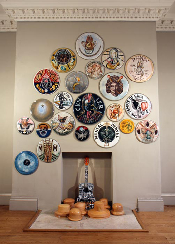 Donderslag installation: the Drumskin collection 2009.