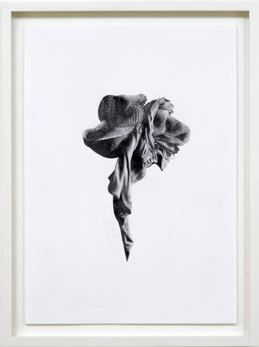 "Lee Edwards 'entangled' pencil on A4 paper (29.7×21cm/11.7""×8.3"") frame: 34×25.5cm 2012"