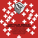 Arthur Brick: 'Original Swiss Wedding, with a unique painting on each sleeve by John Strutton'