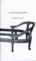 Sharon Kivland – Le Style Louis XVI – domobaal editions 2013