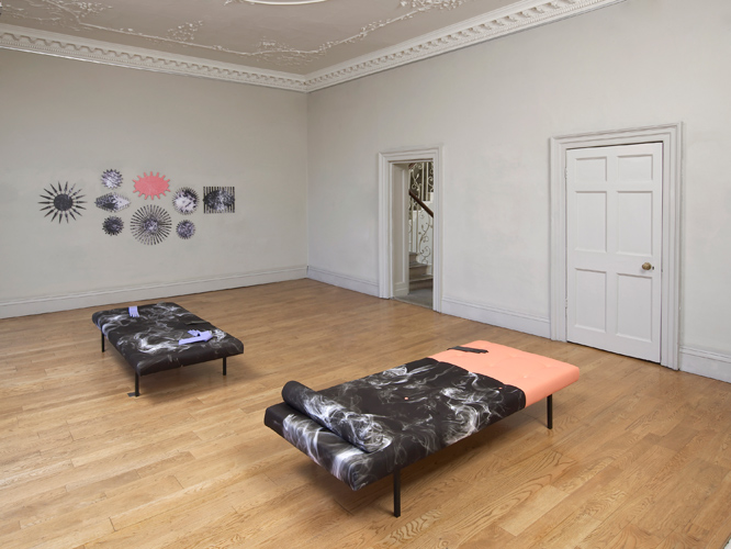 Rachel Adams 'Long Reach' installation view, photography by Andy Keate 2014